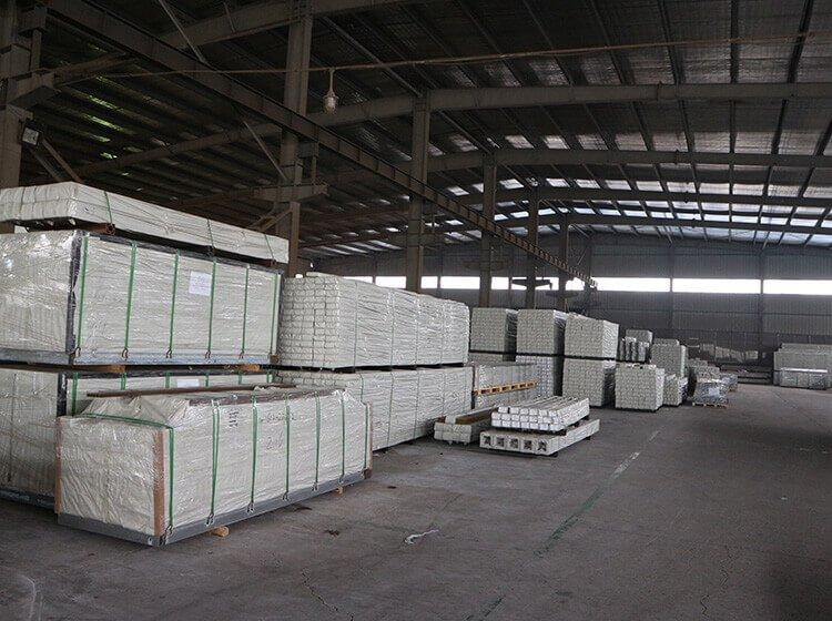 木塑材料的存放和塑木的保养